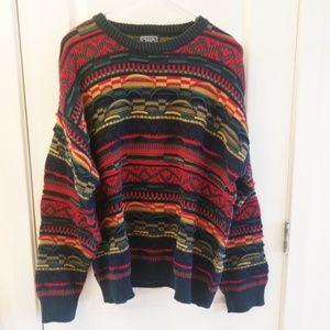 Cosby Coogi style 80s Chaps Ralph Lauren Sweater